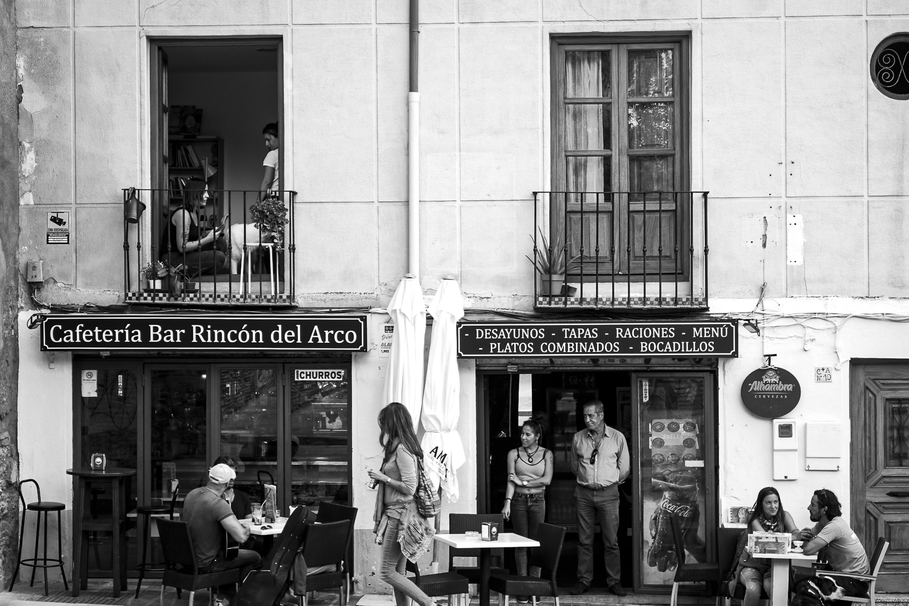 "embodimentculture, ""Granada Streetlife"""