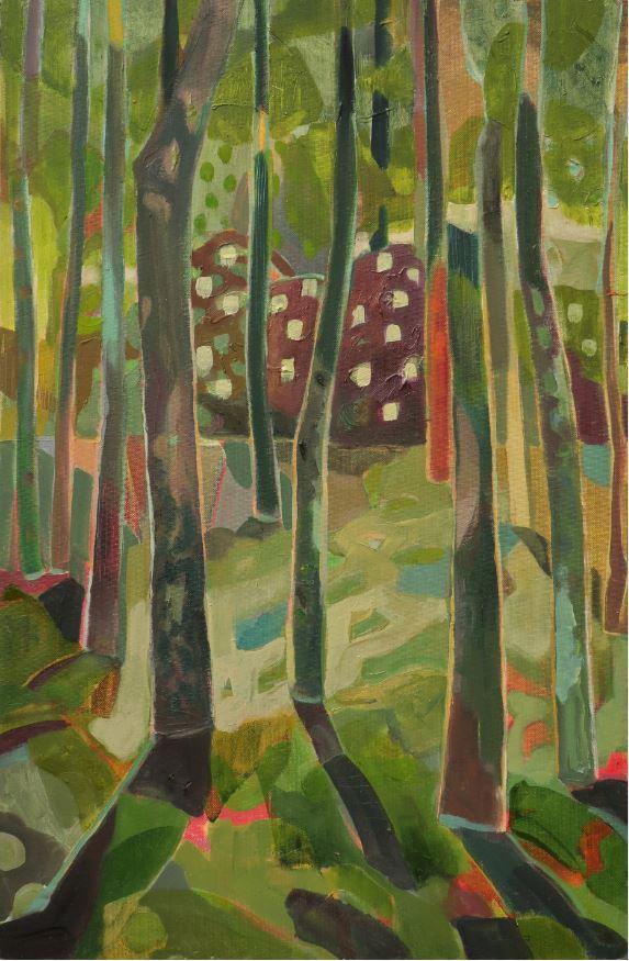 """Cornelia Zabinski, """"Forest XXVIII"""""""