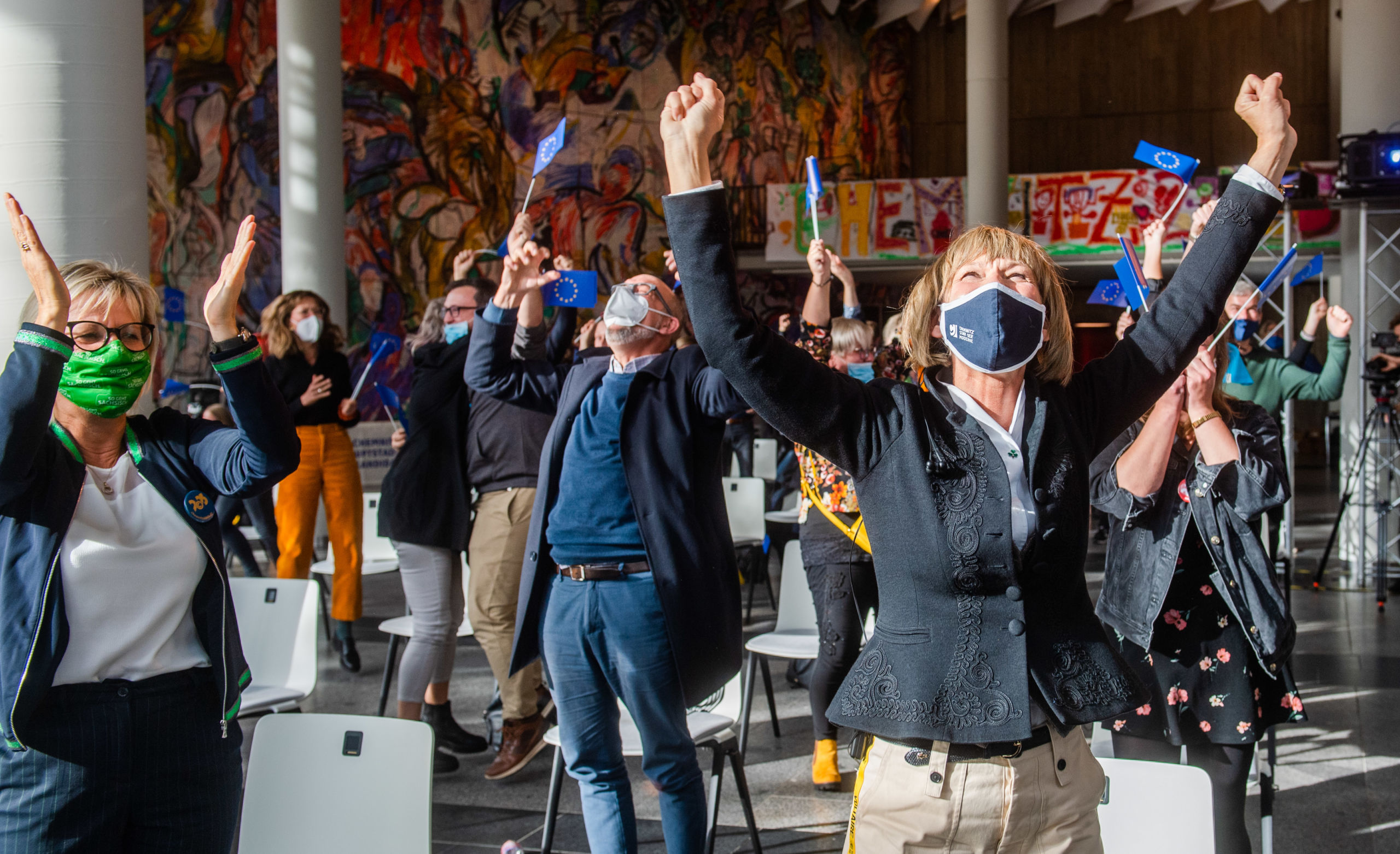 Chemnitz wird Kulturhauptstadt Europas 2025